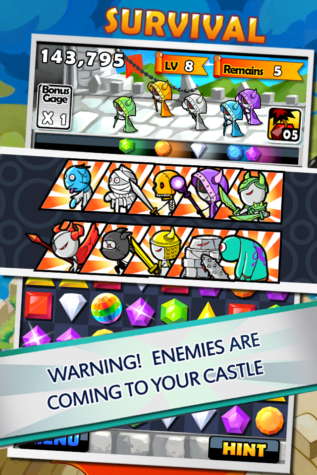 Screenshot Jewel Fighter HD Lite